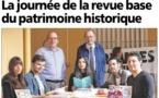 """La """"Journée de la revue"""", base du patrimoine historique."""