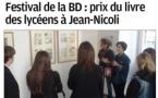Festival de la BD - Le lycée dans la presse