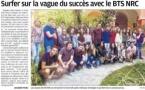 Le BTS NRC du Lycée dans la presse