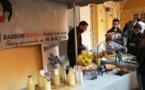Dégustation des produits de Babbone Rossu au magasin d'application