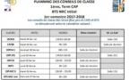 Conseils de classe des premières, terminales CAP et BTS NRC Initial