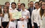 1er prix au Championnat des mini-entreprises Lycée pour la 1ère STMG 1