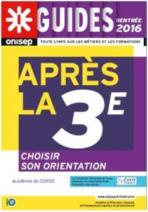 """LE GUIDE ONISEP """"Après la 3ème"""" EST EN LIGNE..."""