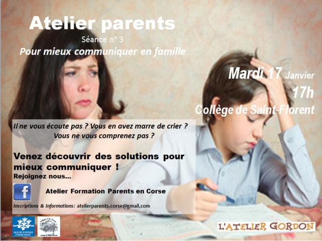 Conférence - Débats: PARENTS EFFICACES POUR MIEUX COMMUNIQUER EN FAMILLE - 20 septembre 2016 au collège. Inscrivez-vous dès maintenant !!