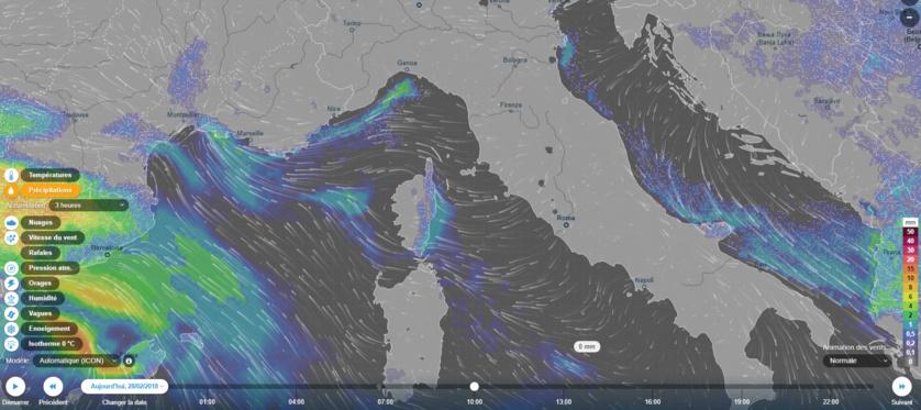 Ventusky | Cartes de prévision de météo
