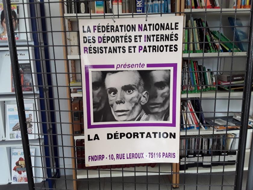 Expo sur la déportation pendant la seconde guerre mondiale