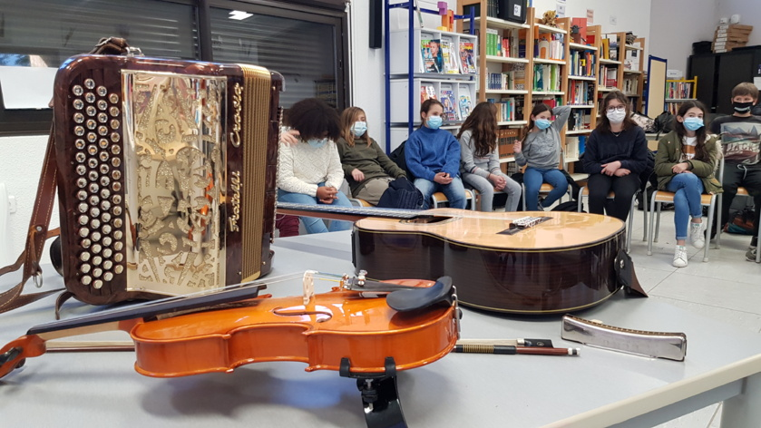 Atelier – Instruments de musique de Corse