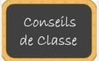 DATES DES CONSEILS DE CLASSE DU PREMIER TRIMESTRE (modification au 14-11-2016)