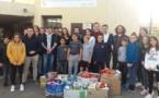Solidarité au collège pour la  Sant'Andria