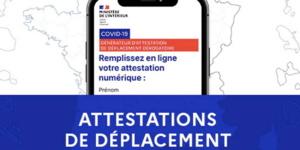 Attestations De Deplacement Covid 2020