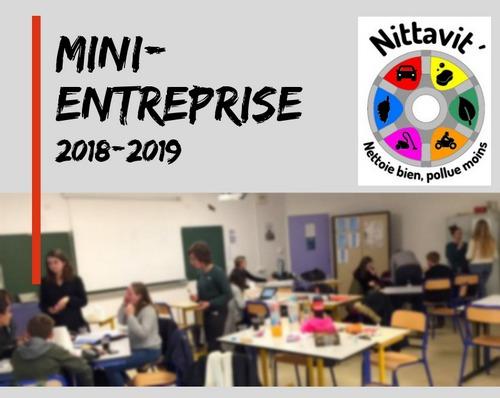 Mini-entreprise 3e 2018-2019