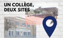 Un collège sur deux sites