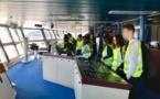 Visite du navire Jean Nicoli