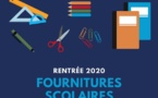 Fournitures scolaires rentrée 2020