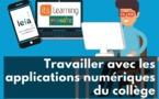Des tutoriels pour vous aider à travailler avec les applications numériques du collège