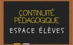 Un espace dédié à la continuité pédagogique pour les familles