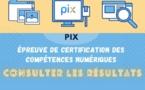 Résultats de la certification PIX